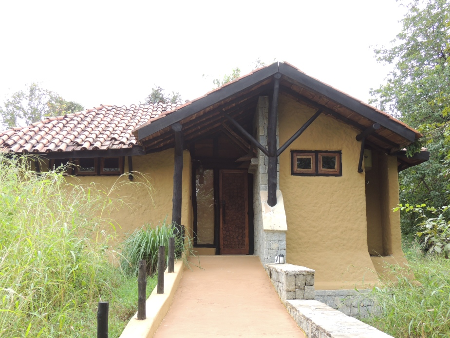 Our cottage at Kanha Earth Lodge