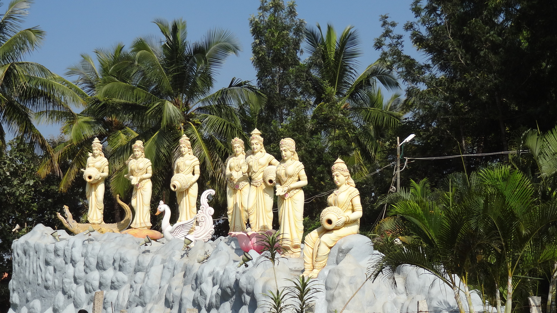 On Visiting The Vishwa Shanti Ashram Bangalore The Girl