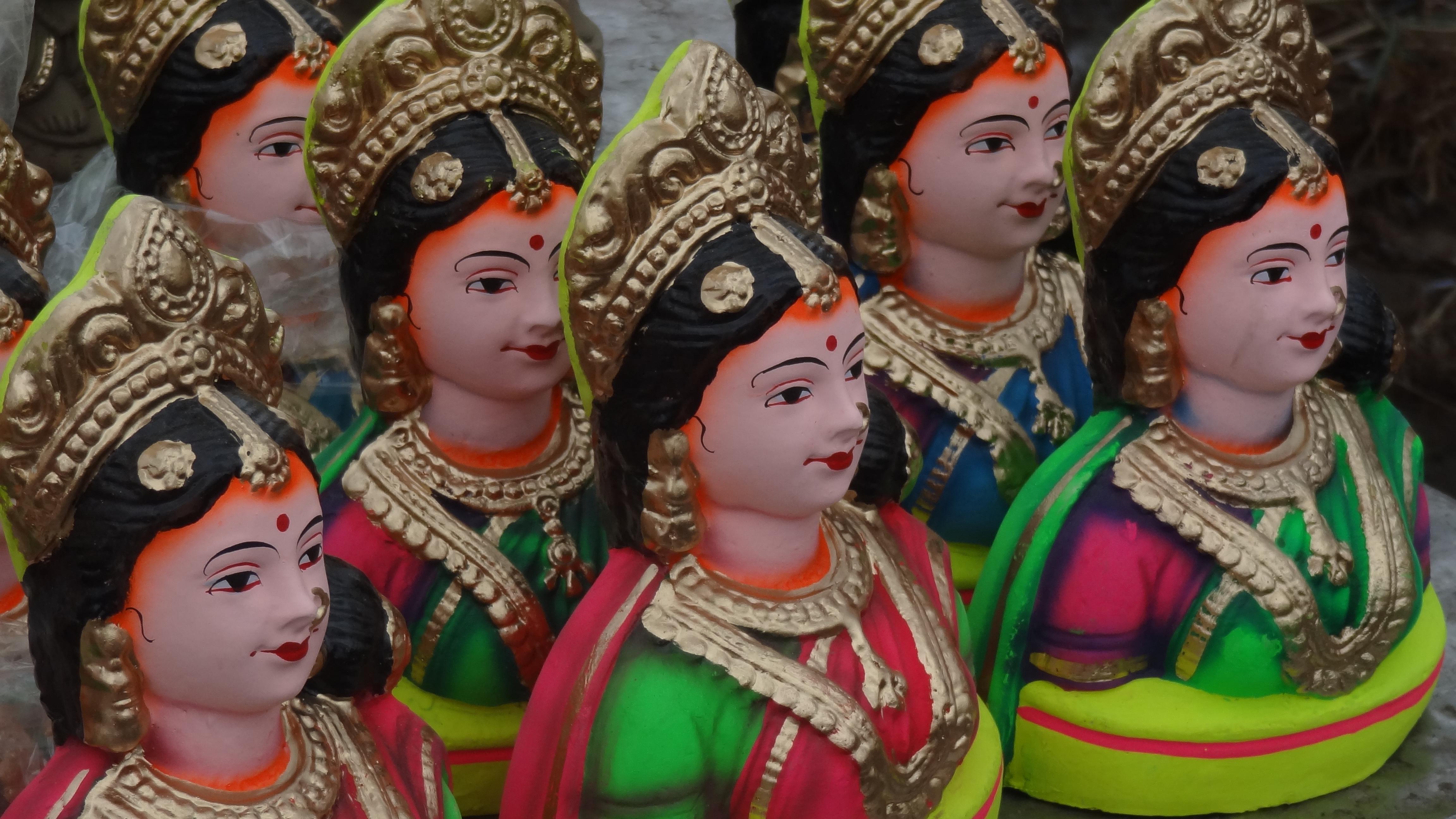 In Pics Bangalore Celebrates Gowri Ganesha Habba In