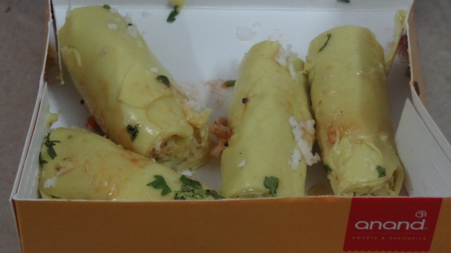 Khandvi at Anand Sweets