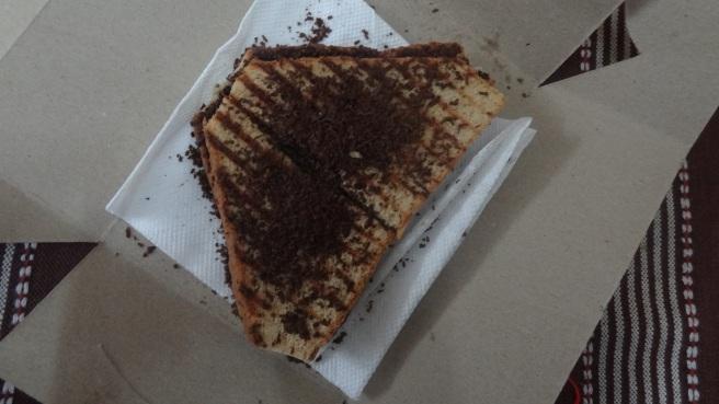 Dark Chocolate Sandwich at Hungry World